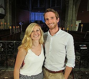 Heulwen and Chris Philpot